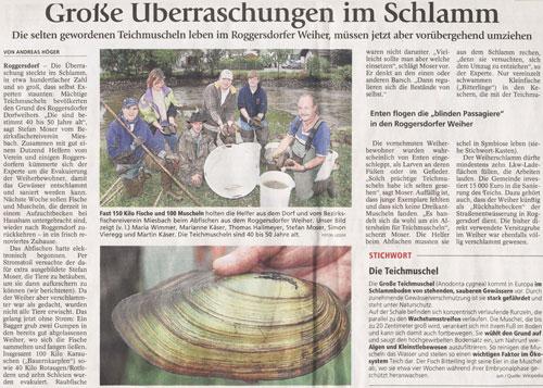 Presse-2010-Teichmuscheln-Roggersdorf